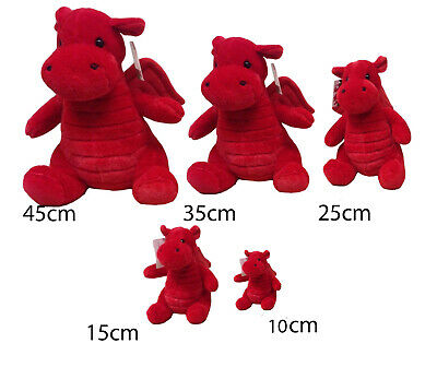 New Souvenir Superb Quality Welsh Wales Supporter Plush Teddy Dragon Soft Toy • 12.99£