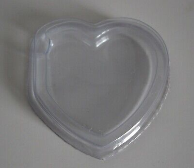 100 X Heart Tag Protectors For Beanie Babie / Baby - Brand New FREE DELIVERY • 9.99£