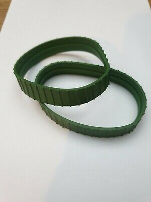 Dinky 961/963 Blaw Knox Tractor/bulldozer Replacement Green Tracks • 4£