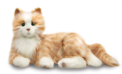 Joy For All Interactive Robotic Companion Pet - Orange Tabby Cat • 99£