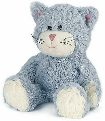 NEW Cozy Plush Blue Cat Fully Microwavable Toy Gently Scented With Rela UK STOC • 15.13£