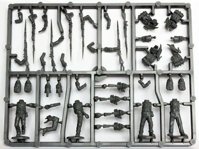 Perry Miniatures Elite Companies French Infantry Sprue 1807-14 • 2.10£