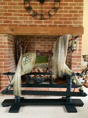 'Nelson'  Large F H Ayres Rocking Horse Circa 1930  - FREE DELIVERY • 3,145£