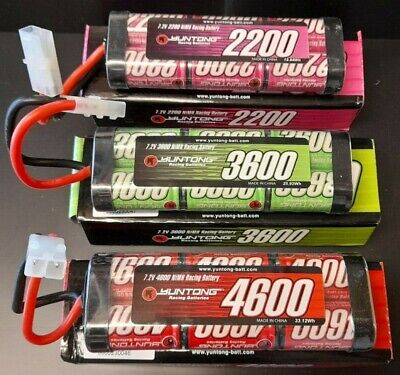 7.2v Tamiya NiMH RC Rechargeable Batteries Pack 7.2 Volt Various Capacity • 19.99£