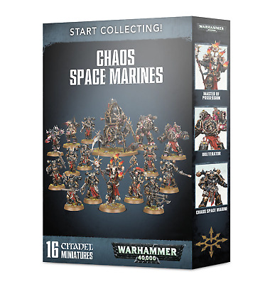 Start Collecting! Chaos Space Marines • 56£