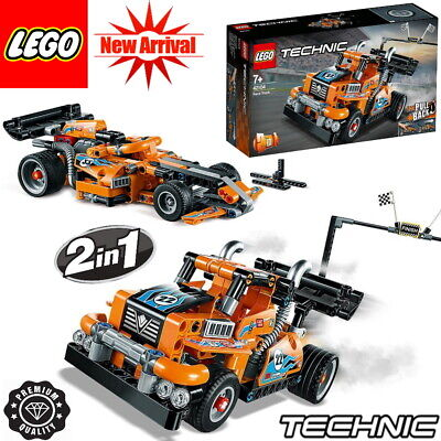 *NEWEST 2020* LEGO Technic Race Truck 42104 PULL BACK 2-in-1 MODEL UK 227 Pieces • 21.99£