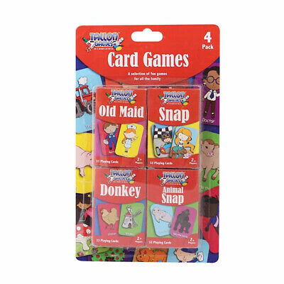 Tallon Children's Playing Cards - Kids Games Playing Snap Donkey Family Fun • 2.49£
