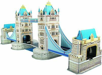 Big Ben/Tower Bridge/State Of Liberty/Eiffel /Leaning Tower 3D Jigsaws PUZZLE • 8.99£