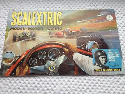 Vintage Scalextric Catalogue - 7th Edition - 1966 - Foreword By Jim Clark • 19.50£