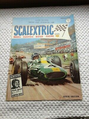 Vintage Scalextric Catalogue - 6th Edition - 1965 - Foreword By Jim Clark • 14.50£