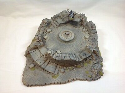 Games Workshop Warhammer Fantasy Battle Pre Painted RUINED CHAOS TOWER OOP • 55£