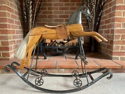 'Antoine' Antique French 'cheval Bascule' - FREE DELIVERY  • 1,425£