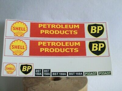 Spot-On AEC / Bedford Petrol Tanker Reproduction Decals. • 5£