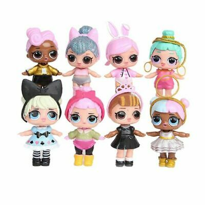 8pcs New LOL Surprise Doll Blind Mystery Toy PVC Figure Xmas Gift For Kids • 12.78£