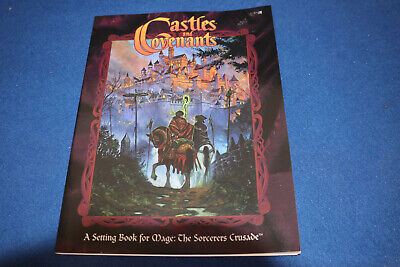 Castles And Covenants. White Wolf WW4803  Book For Mage The Sorcerers Crusade  • 29.99£