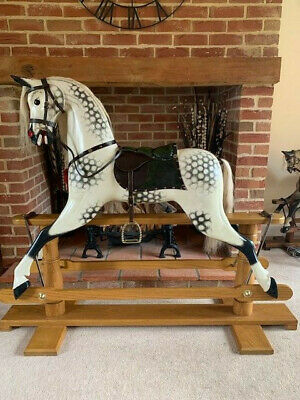 'Thor' - Large Adult Sized Rocking Horse - FREE DELIVERY • 1,595£