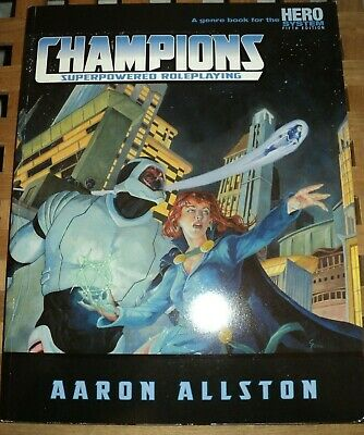 CHAMPIONS Hero System 5th Edition Genre - NEW • 25£