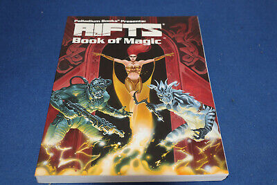 PALLADIUM Rifts Book Of Magic By Kevin Siembieda (2006, Paperback) • 18.99£