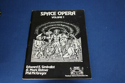 Space Opera Volume 1 Fantasy Games Unlimited Inc 1980 • 17.57£