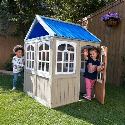 Kidkraft Cooper Outdoor Playhouse | Kids Wooden Play House  • 239£