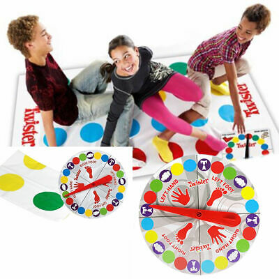 Funny Twister Classic Family Kids Children Party Body Game With 2 More Moves UK • 4.98£