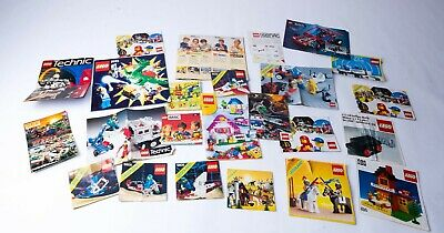Vintage Lego Catalogue / Catalog And Manuals Bundle • 19.99£
