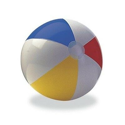 20  & 24  Panel Inflatable Sea Beach Ball Holiday Swimming Pool Party Balls • 2.30£