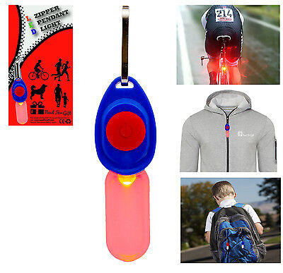 LED Pendant Flashing Light Runners Joggers Cyclists Dog Walkers Night Safety • 1.29£