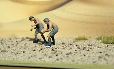Desert Diorama Base With Backdrop,for 1/72, 1/48 Or 1/35 Scale Models, 6  X 12 . • 16.99£