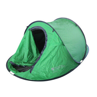Mountain Warehouse 3 Person Pop Up Double Skin Tent 3 Man Festival Camping • 56.99£