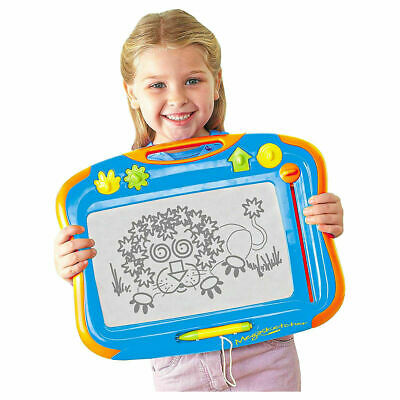 Megasketcher Fun Childrens No Mess Drawing Board With Eraser New TOMY-6555 • 19.99£