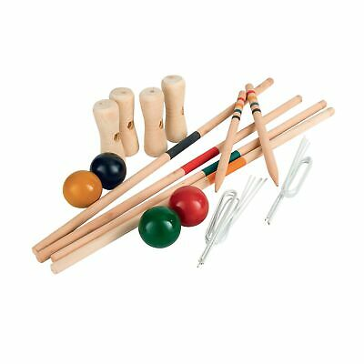 Home & Living Wooden Croquet Game (RW7194) • 27.59£