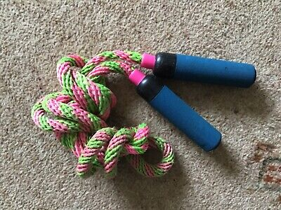 Pink And Green Skipping Rope • 3.50£