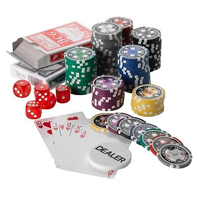500pcs Poker Chip Set, 15G, 7 Colours Low Values 1/5/25/50/100/500/1000 • 69.95£