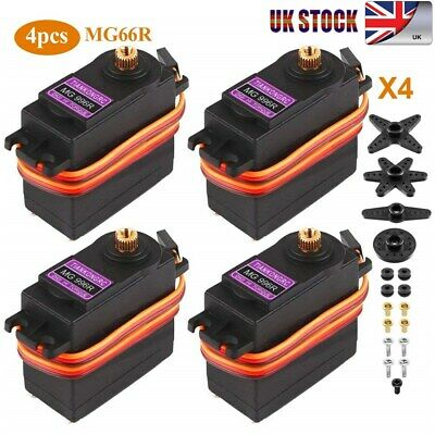 4pcs MG996R Metal Gear Torque Digital Servo For Smart Racing Car RC Truck Boat • 13.99£