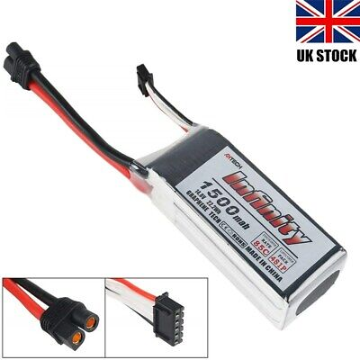 14.8V 1500mAh 4S Graphene LiPo Battery 85C SY60 Connector Fr RC Drone Quadcopter • 22.59£