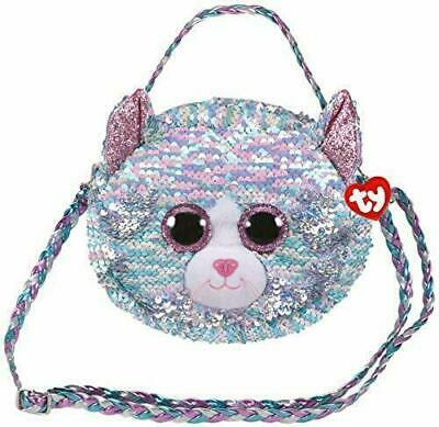 TY Beanie Accessory Shoulder Bag Sequin NEW Whimsy The Cat • 13.99£
