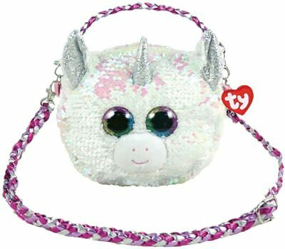 TY Beanie Accessory Shoulder Bag Sequin NEW Diamond The Unicorn • 13.99£
