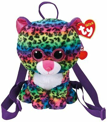 TY Beanie Accessory Backpack Bag NEW Dotty The Leopard • 14.99£