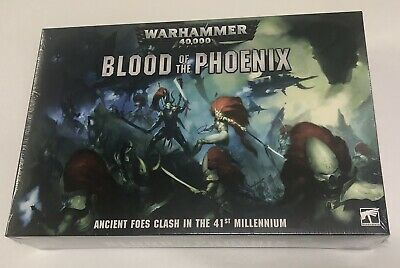 Warhammer 40K Blood Of The Phoenix Dark Eldar Aledari Drukhari Game Sealed • 149.99£