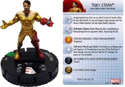 Marvel Heroclix Invincible Iron Man - TONY STARK #015 • 3£