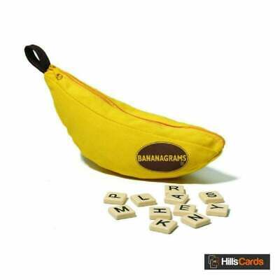 Bananagrams | New & Sealed | Family / Party Game For 1-8 Players Ages 7+ Kids • 9.65£