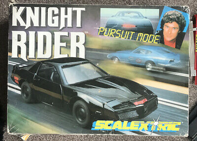 Scalextric Knight Rider Racing Boxed Set Pursuit Mode C711 • 70£