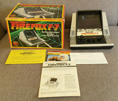 Grandstand Firefox F-7 Tabletop Electronic Game Boxed • 59.99£