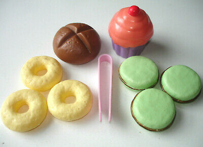 Cupcake Macarons Doughnut Role Play Realistic Food Childrens Kids Preschool Toys • 9.75£
