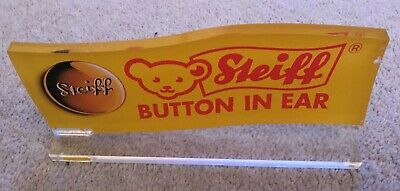 Steiff Original Merchandising Sign • 40£