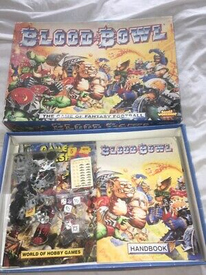 Blood Bowl THE GAME OF FANTASY FOOTBALL  Games Workshop  (1994) • 60.10£