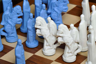 The Camelot Luxury Porcelain Chess Set - Pieces Only - 5.0  King • 790.46£