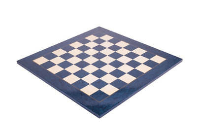 Blue Erable Standard Traditional Chess Board - 2.25  - GLOSS FINISH • 157.31£
