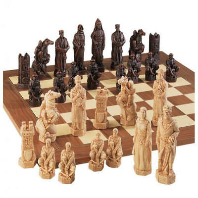 The Crusades Antiqued Chess Pieces • 220.55£